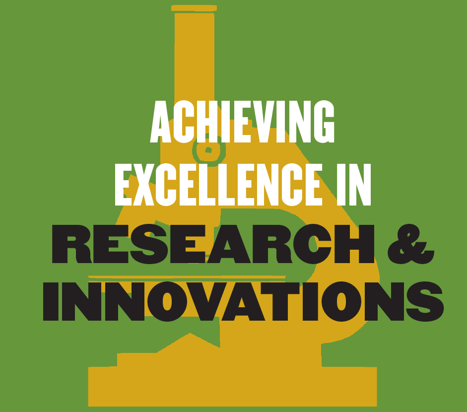 Achieve Excellence in Research and Innovations