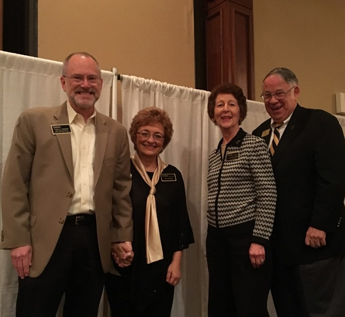 Photo of Craig and Sue Svensson with Jeannie and Jim Chaney