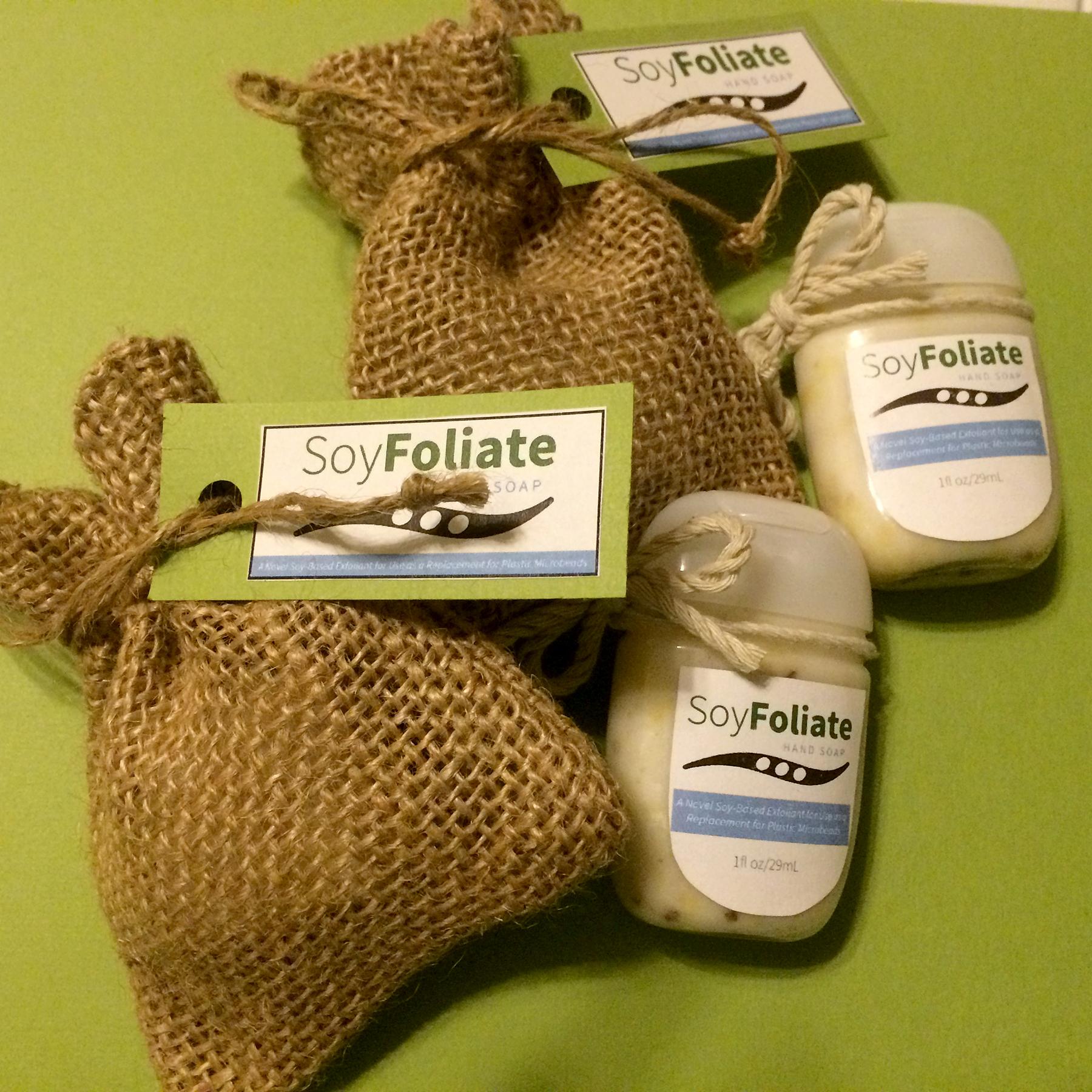 SoyFoliate packaging