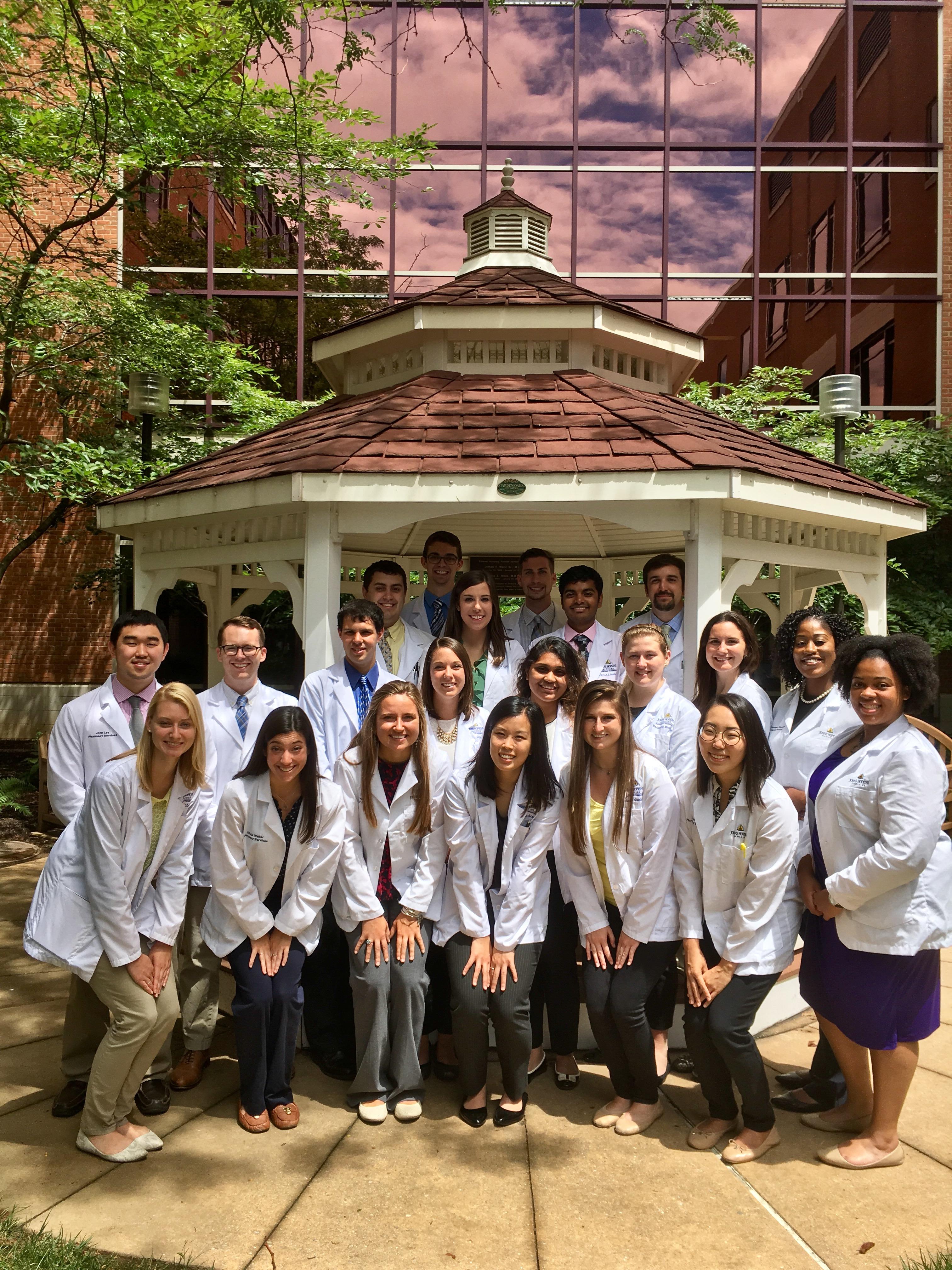 The Johns Hopkins Pharmacy Internship Class of 2017