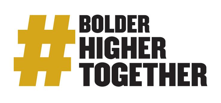 Bolder Higher Together logo
