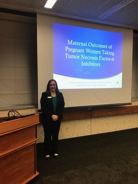 Veronica Bonderski - Maternal Outcomes of Pregnant Women Taking Tumor Necrosis Factor-alpha Inhibitors