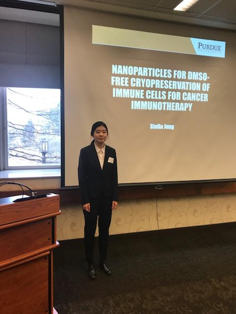 Stella Jung - Developing Cryoprotective Nanoparticles for DMSO-free Cryopreservation of Natural Killer Cells for Cancer Immunotherapy