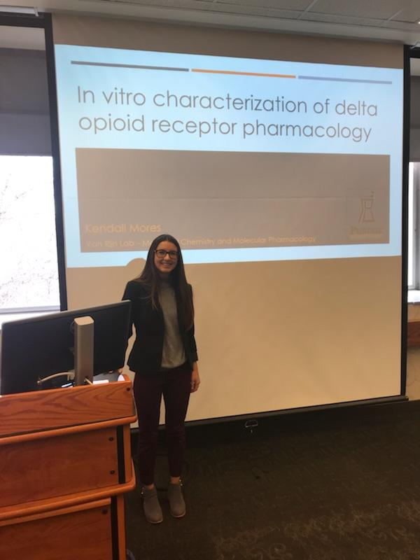 Kendall Mores - In Vitro Characterization of Delta Opioid Receptor Pharmacology