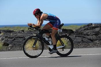 Laura Aykroyd biking
