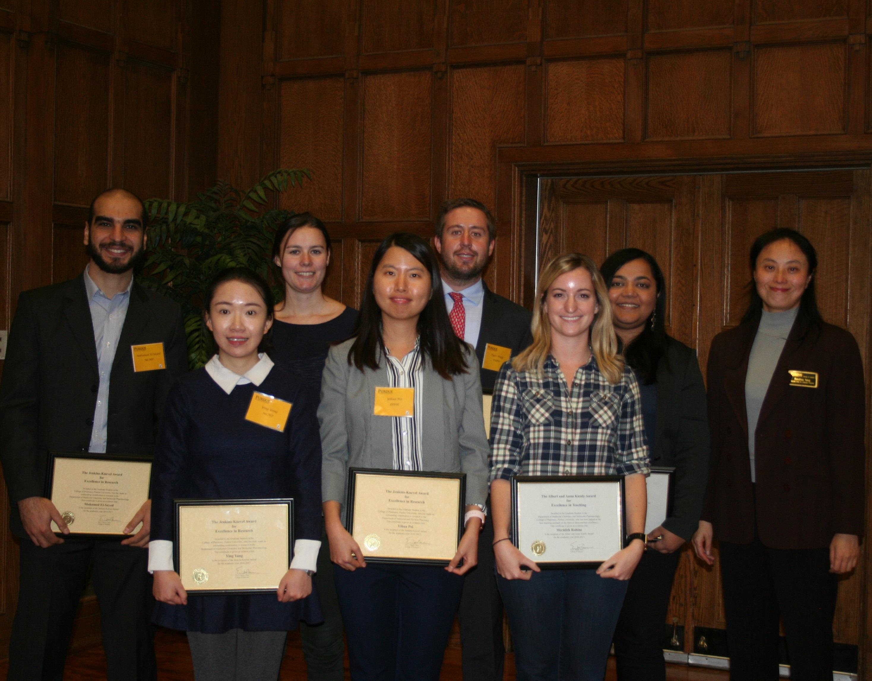 Graduate Award Recipients