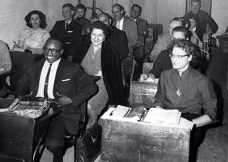 Dr. Pedicord's class in 1961