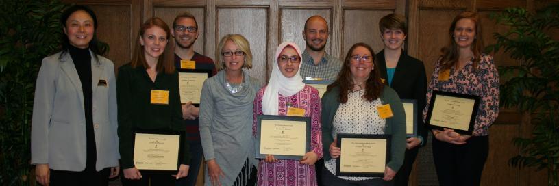 Photo of awards winners