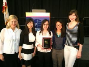 Pharmacy Student Team 2nd Place Winners