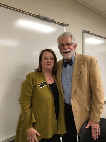 Katie MacFarlane with Dr. Scott