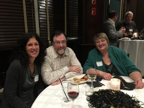 Naperville Alumni Reception candid photo