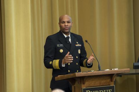 VADM Jerome M. Adams, U.S. Surgeon General