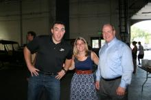 Dan Bolsen, Katie Skeel, and John Dinkens