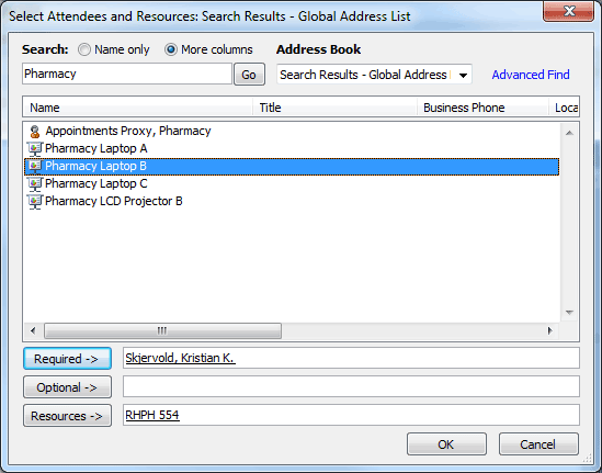 Dialog box showing inviting other people