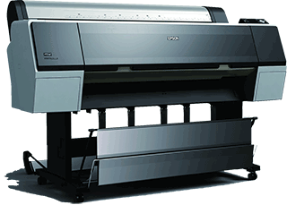 Picture of poster printer